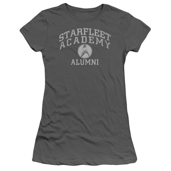 Star Trek/Alumni Junior Sheer in Charcoal