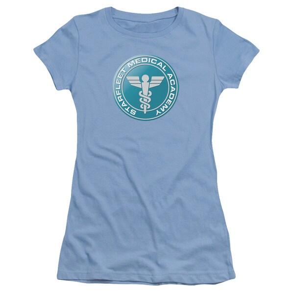 Star Trek/Medical Junior Sheer in Carolina Blue