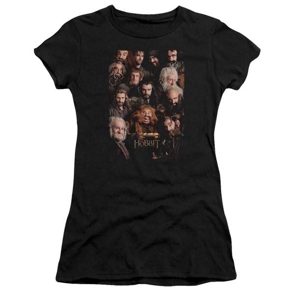 The Hobbit/Dwarves Poster Junior Sheer in Black