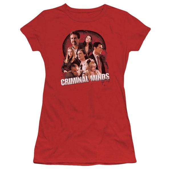 Criminal Minds/Brain Trust Junior Sheer in Red