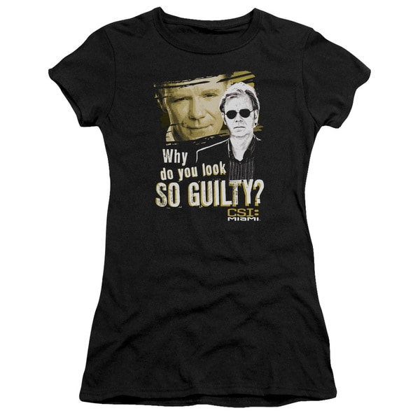 CSI Miami/So Guilty Junior Sheer in Black