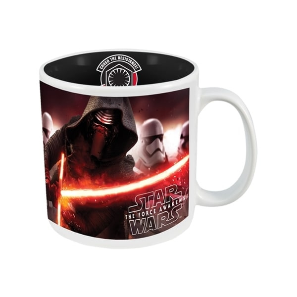Star Wars Kylo Ren Multicolor Stoneware 20-ounce Coffee Mug