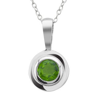 Haven Park Green Cubic Zirconia Pendant