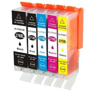PGI-270 CLI-271 Replacement Ink Cartridge (For Canon PIXMA, MG5720, MG5721, MG5722, MG6820, MG6821 and MG6822 Series Printers)