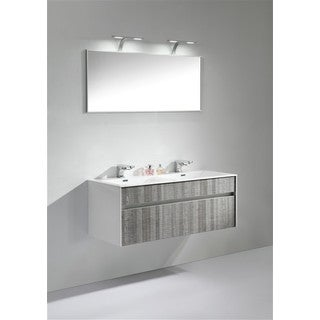 KubeBath Tona Fitto 48-inch Double Sink Bathroom Vanity