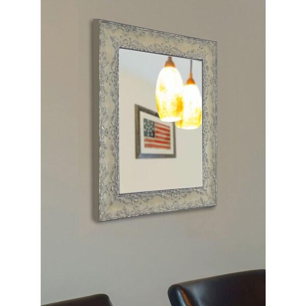 American Made Rayne Maclaren Pewter Wall Mirror