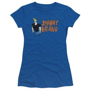 Johnny Bravo/Johnny Logo Junior Sheer in Royal