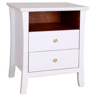 Porthos Home Cosette 2 Drawer Side Table