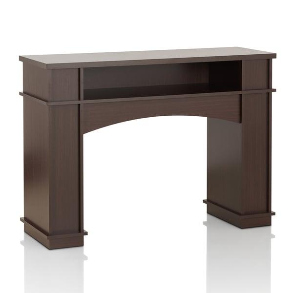 Furniture of America Hagen Modern Walnut Hallway Console
