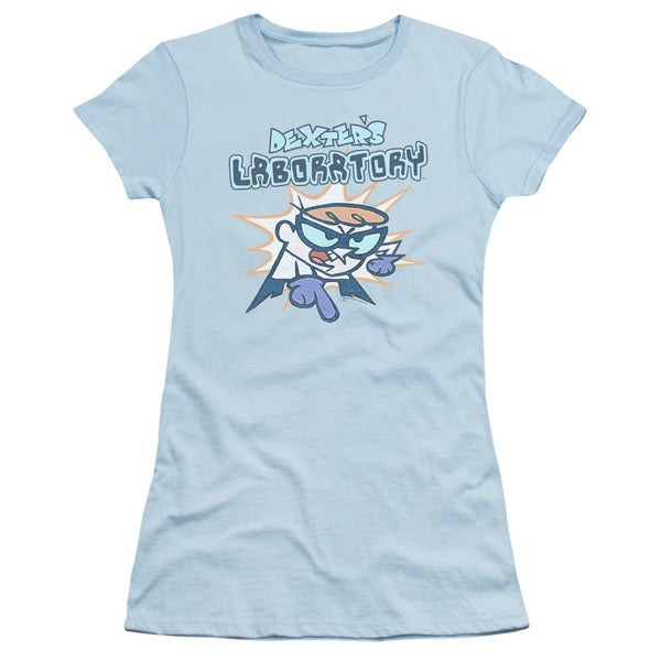Dexter's Laboratory/What Do You Want Junior Sheer in Light Blue