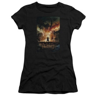 Hobbit/Smaug Poster Junior Sheer in Black