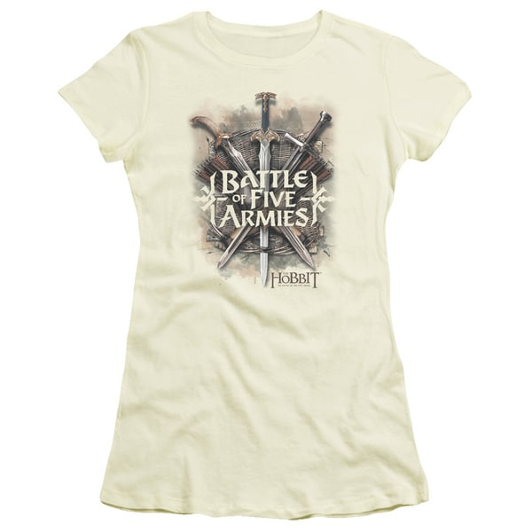 Hobbit/Battle Of Armies Junior Sheer in Cream
