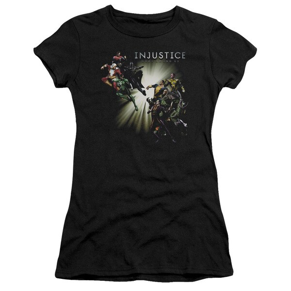 Injustice Gods Among Us/Good Vs Evil Junior Sheer in Black