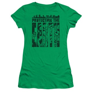 DC/Protecting The Earth Junior Sheer in Kelly Green