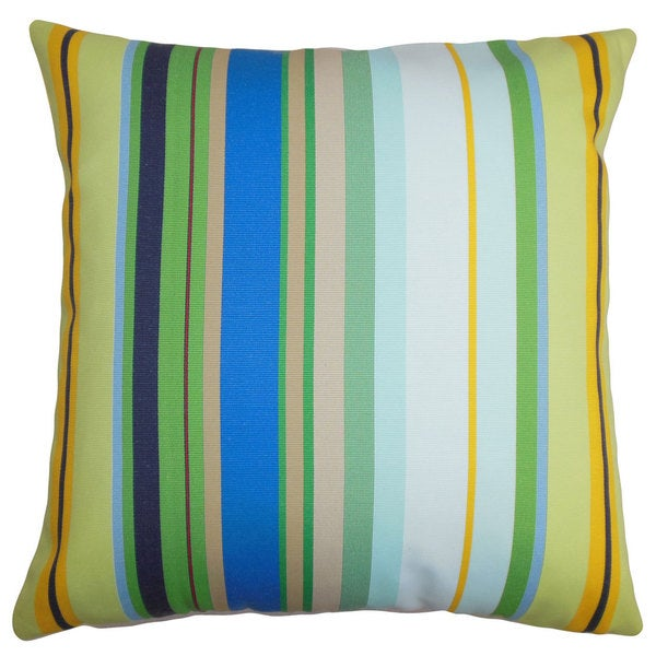 Laird Stripes Throw Pillow Cover