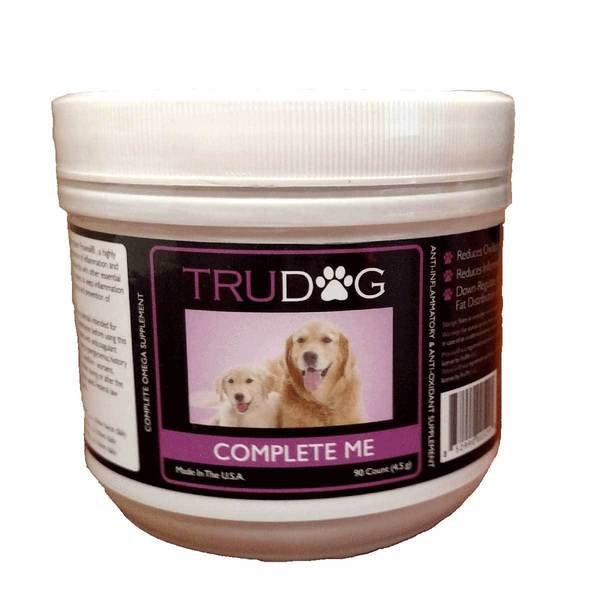 Trudog Complete Me Omega Soft Chew Dog Vitamin 90 count