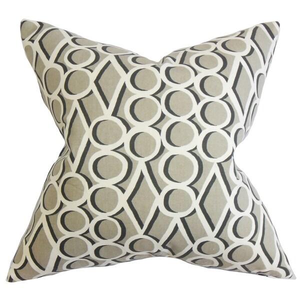 Blaise Geometric Throw Pillow Cover