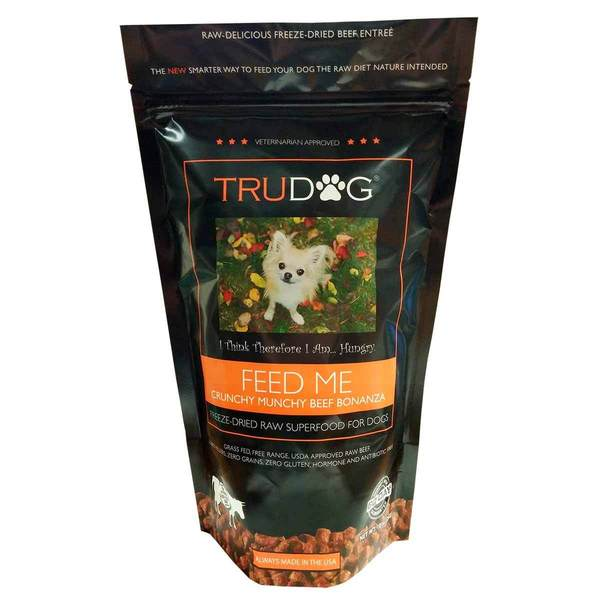 Trudog Feed Me Nibblet Entre Dog Food