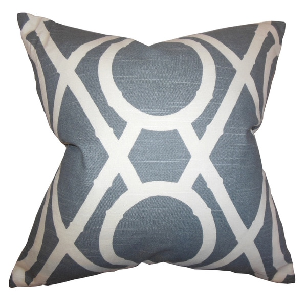 Whit Geometric Throw Pillow Cover