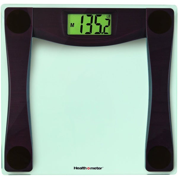 Health O Meter Glass Scale with Weight Tracking
