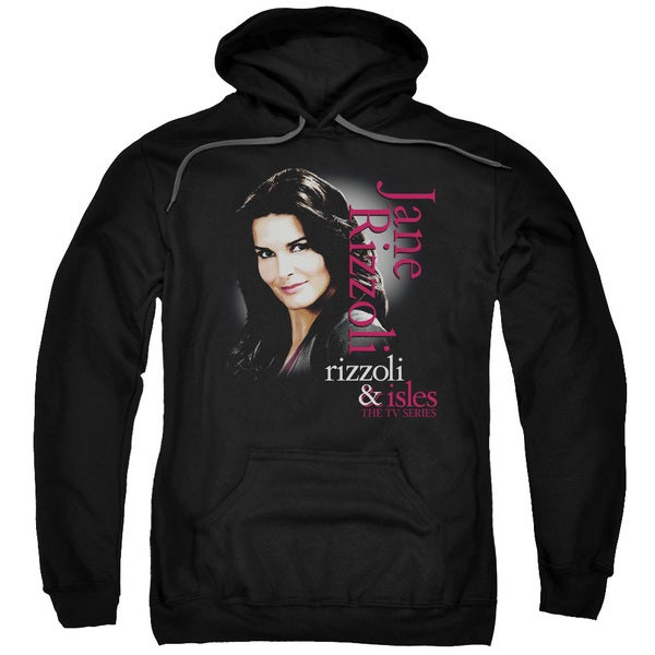 Rizzoli &Amp; Isles/Jane Rizzoli Adult Pull-Over Hoodie in Black