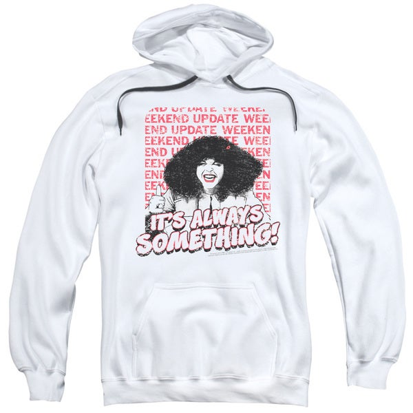 SNL/Its Always Something Adult Pull-Over Hoodie in White