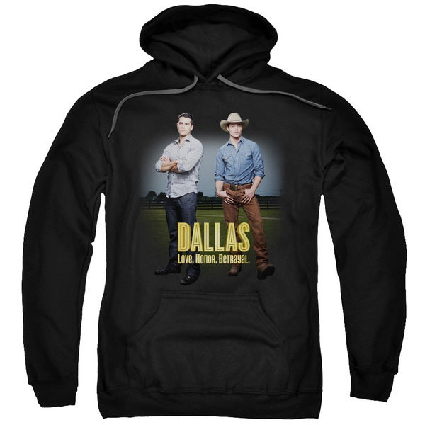 Dallas/The Boys Adult Pull-Over Hoodie in Black