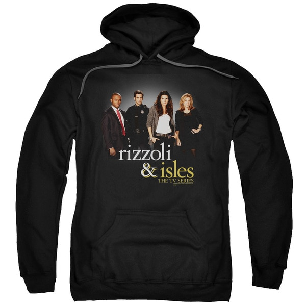 Rizzoli &Amp; Isles/R&Amp;I Cast Adult Pull-Over Hoodie in Black
