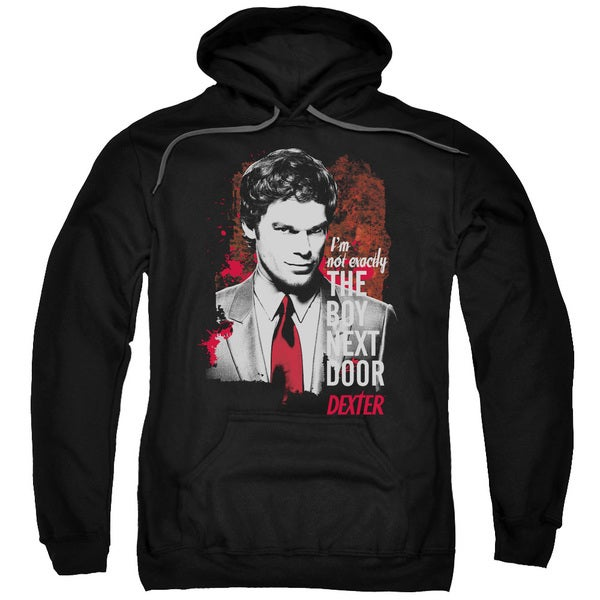 Dexter/Boy Next Door Adult Pull-Over Hoodie in Black