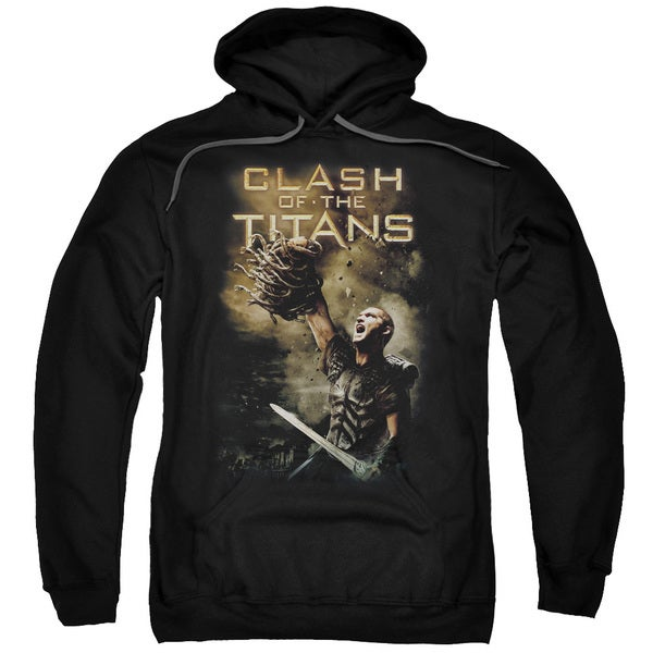 Clash Of The Titans/Medusa Head Adult Pull-Over Hoodie in Black