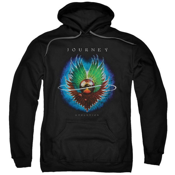 Journey/Evolution Adult Pull-Over Hoodie in Black
