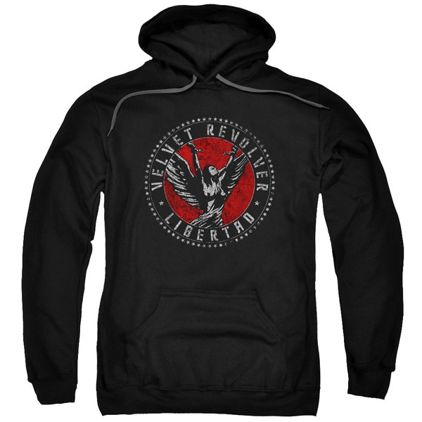 Velvet Revolver/Circle Logo Adult Pull-Over Hoodie in Black
