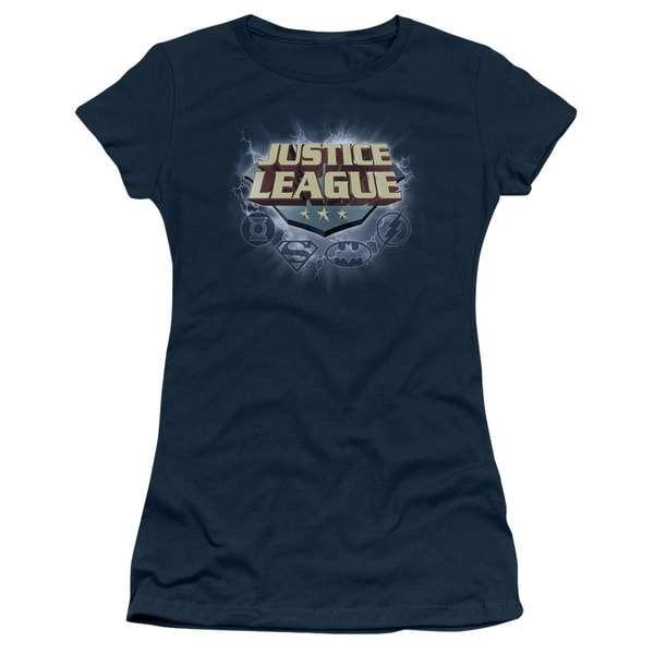 JLA/Storm Logo Junior Sheer in Navy