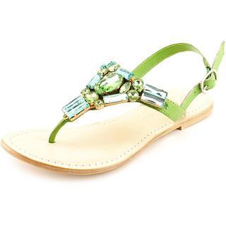 Matisse Women's Wizard Green Leather Sandals
