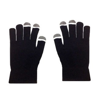 MINXNY Micro Velvet Glow-tipped Touch Screen Gloves