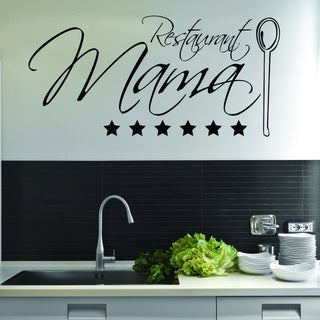 Restaurant Mama Wall Decal Sticker