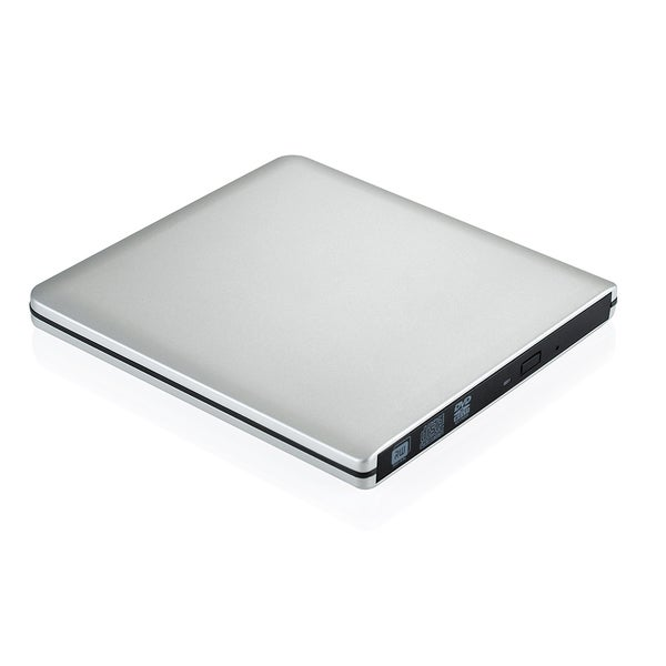 Ultra Slim External USB 3.0 Apple Macbook Pro Air iMAC Aluminum CD/DVD-RW Writer Burner