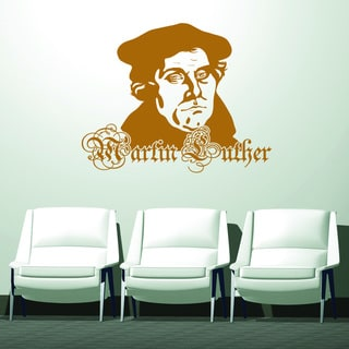 Style and Apply Martin Luther Vinyl Wall Decal and Sticker Mural Art Home Decor