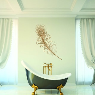 Magnificient Feather Wall Decal