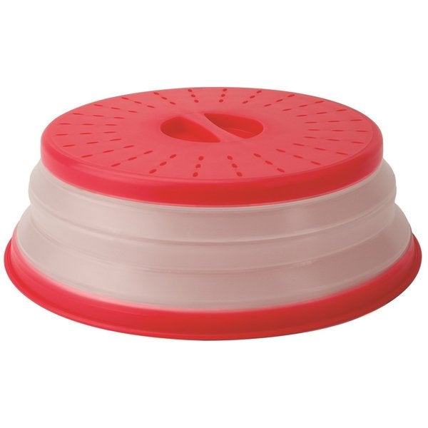 Tovolo Red Silicone Collapsible Microwave Cover