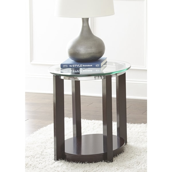 Greyson Living Crawley Round End Table