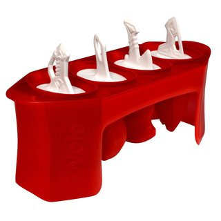 Tovolo White/Red Silicone Sword Pop Molds (Set of 4)