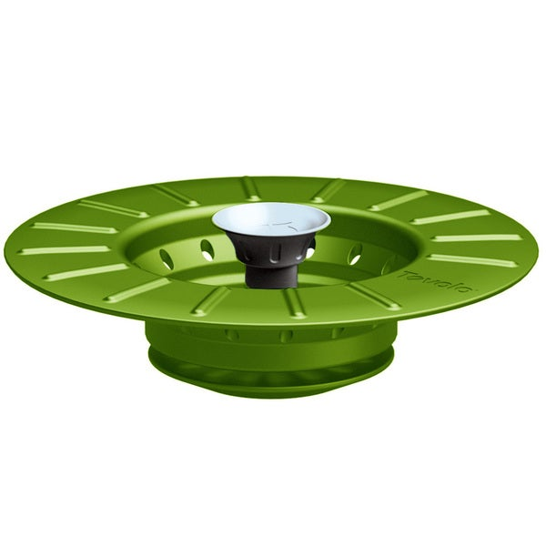 Tovolo Green Collapsible Stopper & Strainer