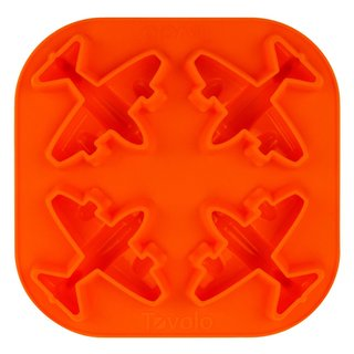 Tovolo Orange Silicone Airplane Ice Tray