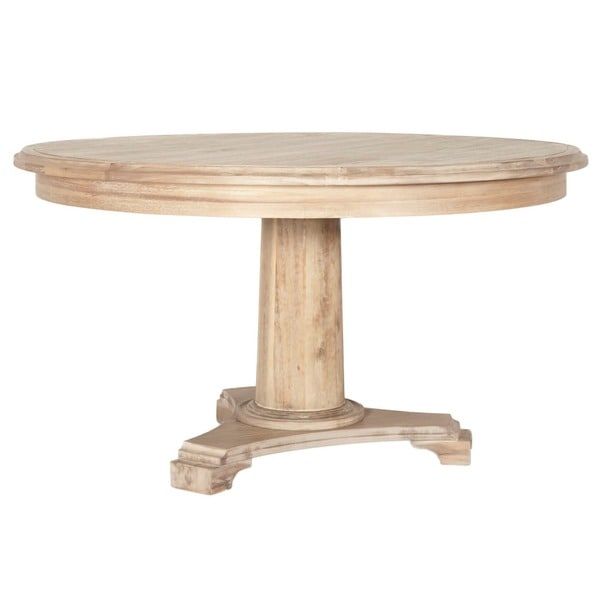 Brittany Wood 54-inch Round Dining Table