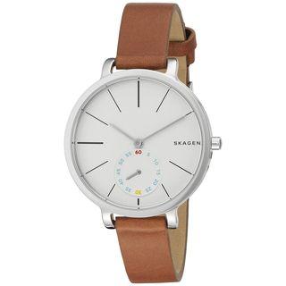Skagen Women's SKW2434 'Hagen' Brown Leather Watch