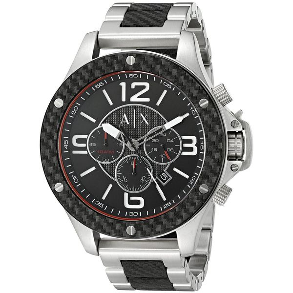 Armani Exchange Men's AX1521 'Wellworn' Chronograph Two-Tone Stainless Steel Watch