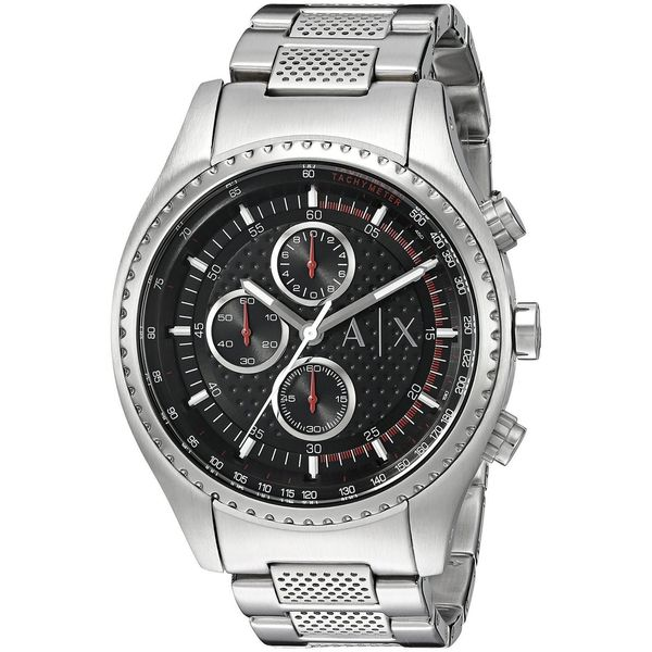 Armani Exchange Men's AX1612 'The Driver' Chronograph Stainless Steel Watch