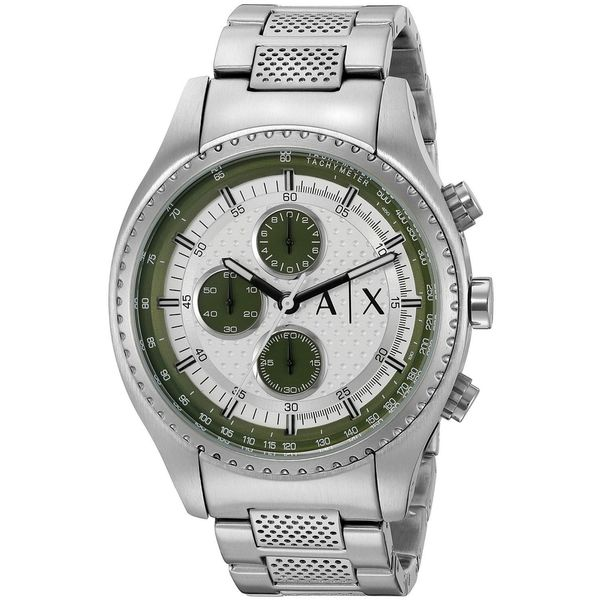 Armani Exchange Men's AX1613 'The Driver' Chronograph Stainless Steel Watch