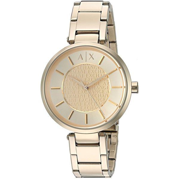 Armani Exchange Women's AX5316 'Street' Gold-tone Stainless Steel Watch